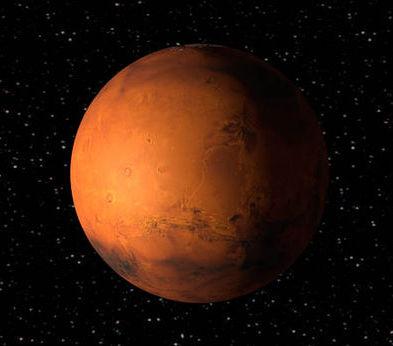 Martian Postcard