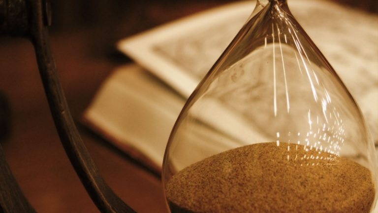Out of Time –  a Zoom-Out Parable